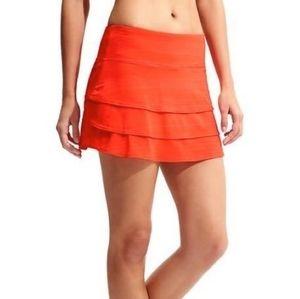 Athleta Swagger Skort in Coral Orange